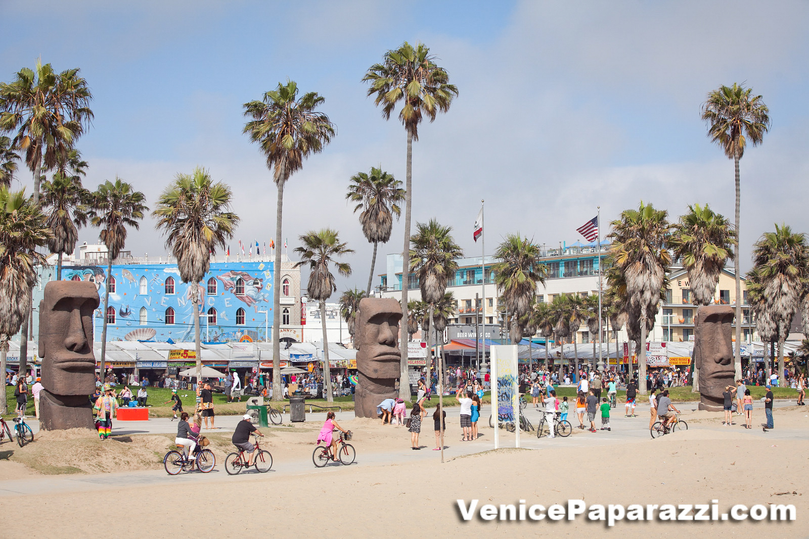 Rent Some Transport And And Explore Venice On A Bike Skate Board