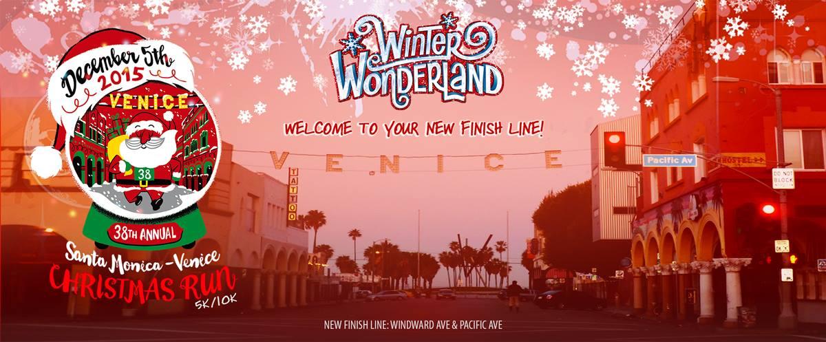 Santa Monica-Venice Christmas Run
