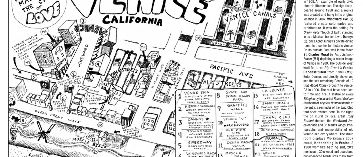 A Free Walking Tour Of Venice Ca