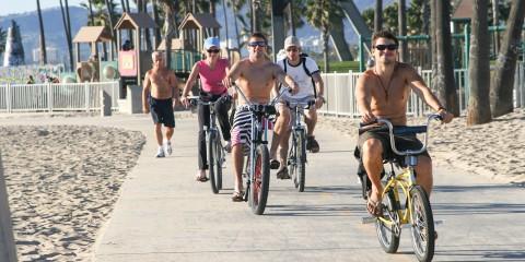 Bike along the coast
