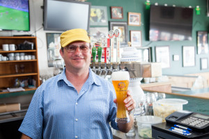 Stefan Bachofner of the On the Waterfront Cafe
